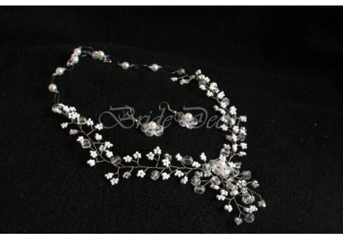 Бижутерия для свадьбы «Колье принцессы»
